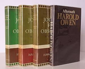Journey from Obscurity. Wilfred Owen 1893-1918. Memoirs: Wilfred OWEN). Harold
