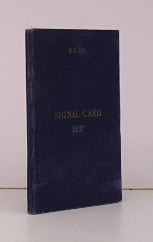 Signal Card 1937. BRIGHT, CLEAN COPY OF: ROYAL NAVY. ADMIRALTY.