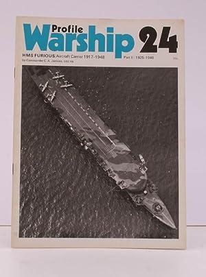 Warship Profile 24: HMS Furious Aircraft Carrier: Commander C.A. JENKINS