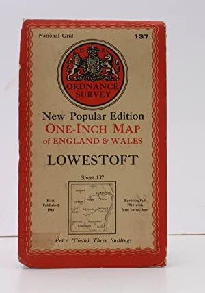 Ordnance Survey One-Inch Map of Lowestoft. New Popular Edition. Sheet 137. Scale: One Inch to to ...
