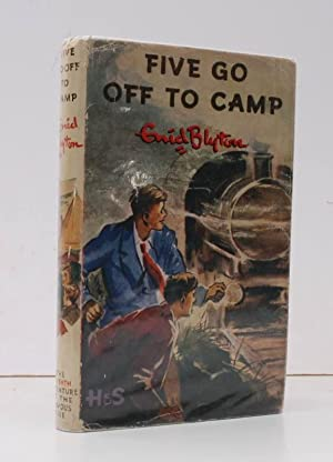 Five Go Off To Camp. The Seventh Story of the Adventures of the Four Children and their Dog. Illu...