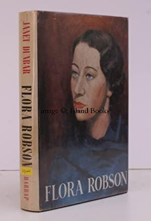 Flora Robson. SIGNED PRESENTATION COPY FROM DAME FLORA ROBSON: Dame Flora ROBSON). Janet DUNBAR