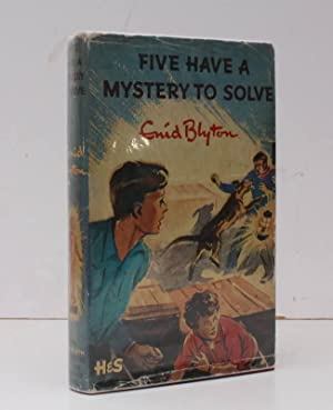 Five have a Mystery to Solve. Illustrated by Eileen Soper. BRIGHT, CLEAN COPY IN UNCLIPPED DUSTWR...