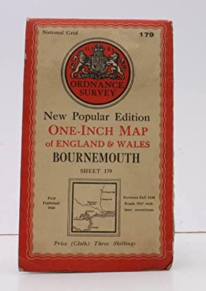 Ordnance Survey One-Inch Map of Bournemouth. New Popular Edition. Sheet 179. Scale: One Inch to t...