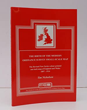 The Birth of the Modern Ordnance Survey Small-Scale Map. The Revised New Series Colour Printed On...