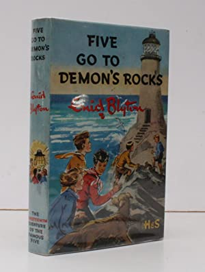 Five go to Demon's Rocks. Illustrated by Eileen Soper. THE ORIGINAL EDITION IN UNCLIPPED DUSTWRAPPER