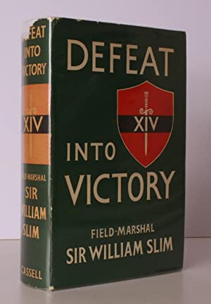 Defeat into Victory. NEAR FINE COPY IN UNCLIPPED DUSTWRAPPER
