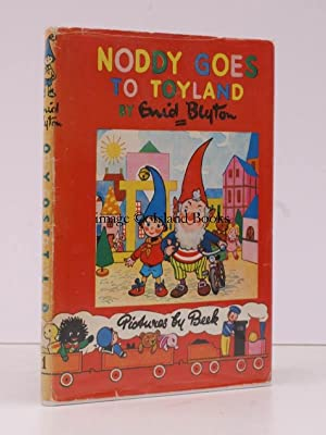 Noddy Goes to Toyland. Pictures by Beek. [Noddy Book 1]. REMARKABLY BRIGHT, CLEAN COPY: Enid BLYTON