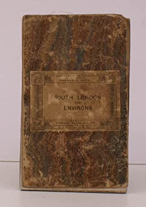 Ordnance Survey Map of South London and Environs. Third Edition. One Inch. [Stanford cover]. IN S...