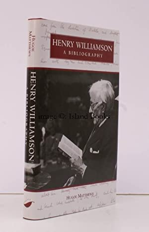 Henry Williamson. A Bibliography. FIRST COMPREHENSIVE BIBLIOGRAPHY: Henry WILLIAMSON). H.R. ...