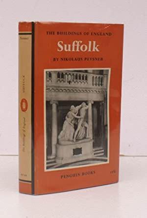 The Buildings of England. Suffolk. NEAR FINE COPY IN UNCLIPPED DUSTWRAPPER: Nikolaus PEVSNER