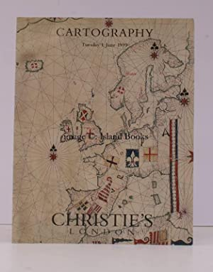 [Sale Catalogue of] Cartography. I June 1999. Sale Code: BOWEN-6109.
