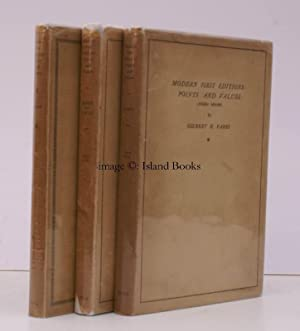 Modern First Editions: Points and Values. [First to Third Series complete]. 'POINTS' ...