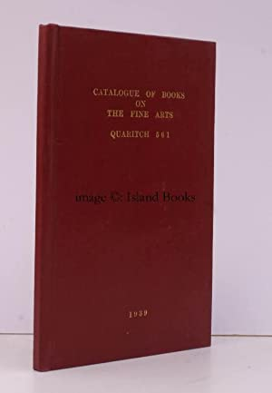 A Catalogue of Books on the Fine Arts and Music & Dancing (including a few Authographs).: ...