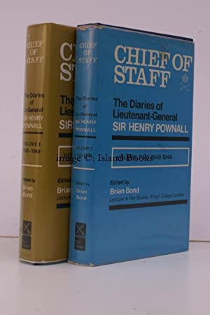 Chief of Staff. The Diaries of Sir Henry Pownall. [1933-1944]. [Edited by B. Bond]. COMPLETE SET ...