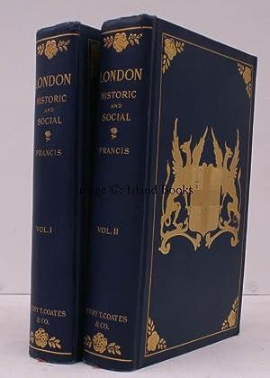 London Historic and Social. AN AMERICAN VIEW OF LONDON. NEAR FINE COPY IN ORIGINAL CLOTH: C. de la ...