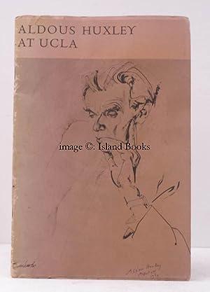 Aldous Huxley at UCLA. A Catalogue of: Aldous HUXLEY