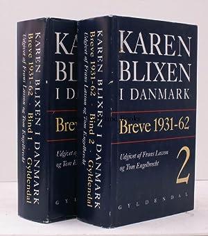Karen Blixen I Danmark. Breve 1931-92. Udgivet af Frans Lasson og Tom Engelbrecht. NEAR FINE SET IN...