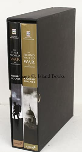 The First World War in Photographs [with] The Second World War in Photographs. FINE SET IN ...