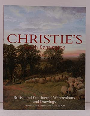 [Sale Catalogue of] British and Continental Watercolours and Drawings. 25 October 2001. Sale Code...