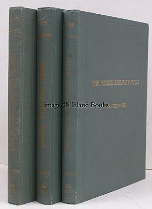 Model Railway News. Volumes XXX (1954), XXXI (1955), XXXII (1956). [12 numbers per volume]. FINE ...