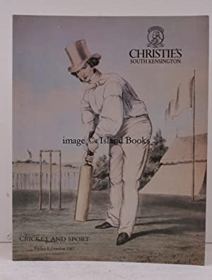 [Sale Catalogue of] Cricket and Sport, 9 October 1987. Sale Code: SPO2448.