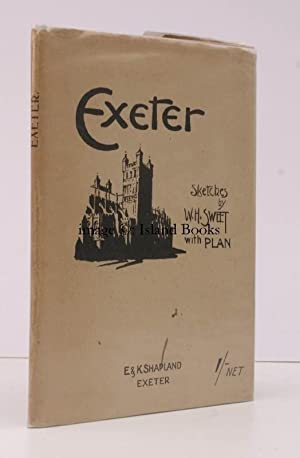 Exeter. Sketches by W.H. Sweet with Plan. SCARCE IN THE DUSTWRAPPER: W.H. SWEET