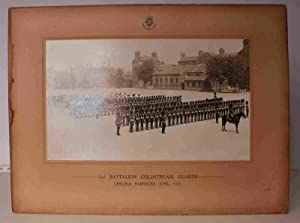 2nd Battalion Coldstream Guards on Parade at Chelsea Barracks 1925. SUPERB ORIGINAL PHOTOGRAPH IN ...