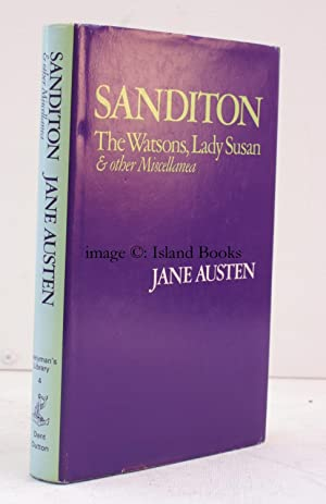 Sanditon, The Watsons, Lady Susan and other: Jane AUSTEN