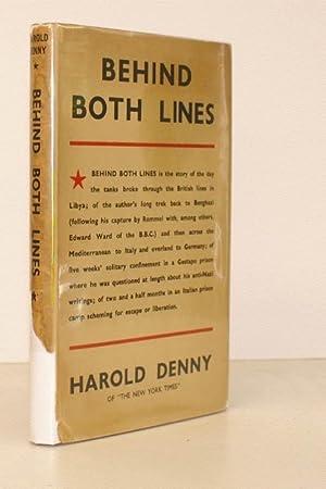 Behind both Lines.: Harold DENNY