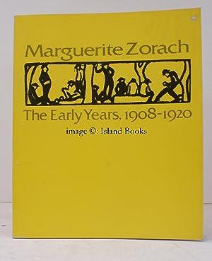 Marguerite Zorach. The Early Years 1908-1920. FINE: M. ZORACH