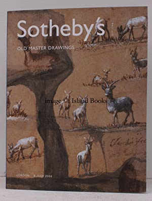 Sale Catalogue of] Old Master Drawings. 8 July 2004. Sale Code: L04040. FINE COPY