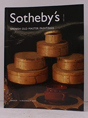 Sale Catalogue of] Spanish Old Master Paintings. 9 December 2004. Sale Code: L04625. FINE COPY