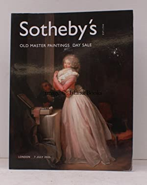Sale Catalogue of] Old Master Paintings. Day Sale. 7 July 2005. Sale Code: L05032. FINE COPY: DAY ...