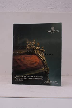 [Sale Catalogue of] Nineteenth Century Furniture, Paintings, Decorative Objects and Rugs. 23 May ...