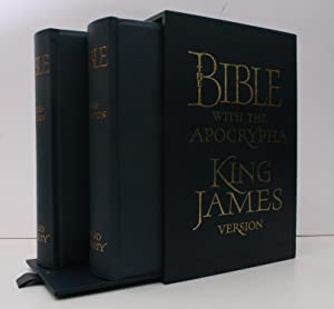The King James Bible. 940 COPIES WERE PRINTED: BIBLE). S. RAW (callig.)