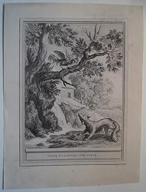 Le Coq et le Renard. Fable XXXVII.: La Fontaine ,