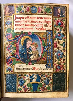BOOK OF HOURS. Use of Rome, in