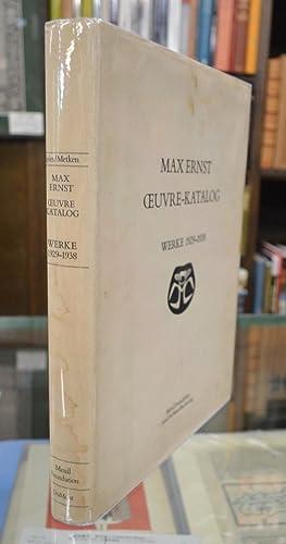 Max Ernst Oeuvre-Katalog: Werke 1929-1938.: Ernst & Spies (B. von W.) ed.