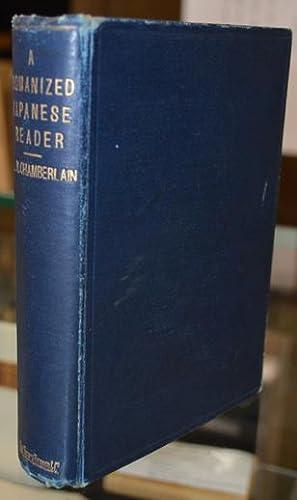 A Romanized Japanese Reader:: Chamberlain (B.H.)