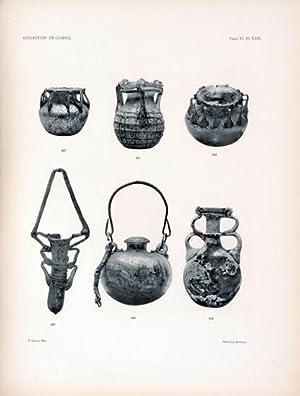 Collection de Clercq. Catalogue Methodique et Raisonne. Antiquites Assyriennes, Cylindres Orientaux...