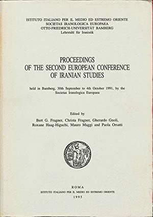 Proceedings of the Second European Conference of: Fragner (B.G.) et