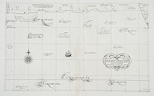 Carta Particolare della Parte Orientale del'Isola di Iezo con li stretto fra America e la ...