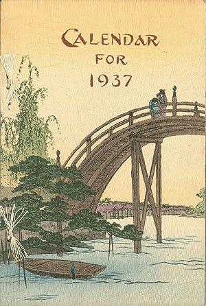 Calendar for 1937.: Crepe paper. Calendar.
