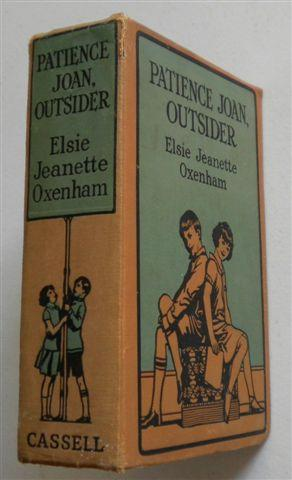 PATIENCE JOAN, OUTSIDER: ELISE JEANETTE OXENHAM