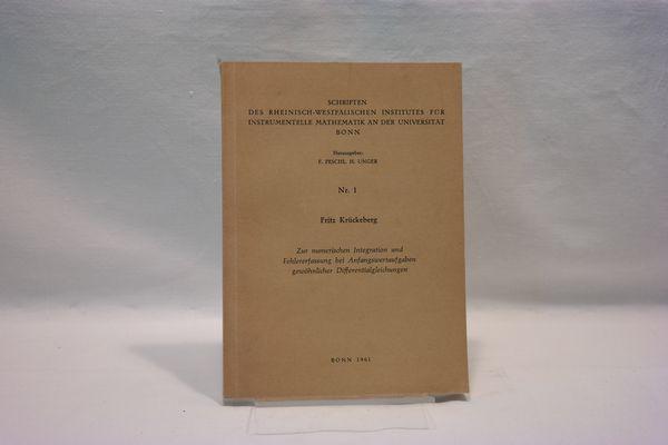 Schriften des Rheinisch- Westfälischen Institutes für instrumentelle: E. Peschel ;