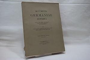 Concilia. (= Monumenta Germaniae Historica; inde ab: Societas Aperiendis Fontibus