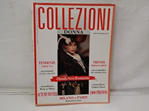 Collezioni Donna, Pret-a-Porter ; Autumn/Winter; N.34 1993/94. Dandy new Romantic, with English Text