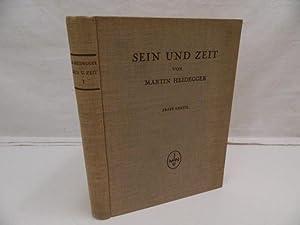 Sein und Zeit : Erste Hälfte.: Heidegger, Martin:
