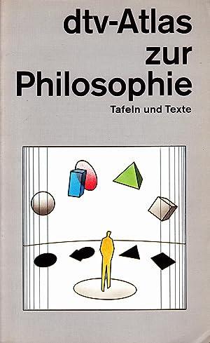 dtv - Atlas Philosophie: Kunzmann, Peter; Burkard,